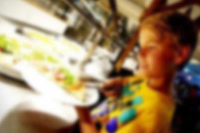 Blå mandag buffet i Lalandia