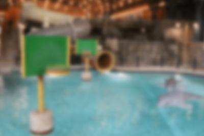 Dolphin Slide i Lalandia i Billund