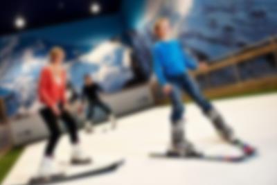 Alla kan åka skidor på Lalandia