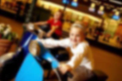 Flotte og stemningsfyldte arcader i Lalandia i Billund