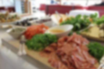 Tapas buffet i Lalandia