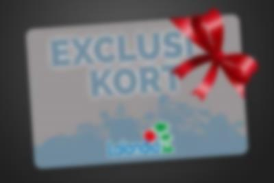 Exclusive Card as gift