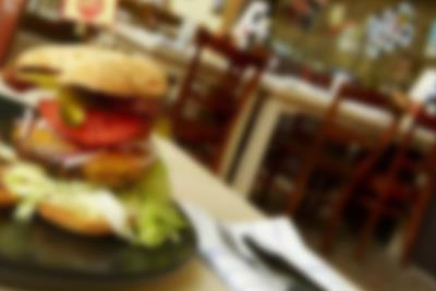 Burger aus dem Restaurant Bone´s in Lalandia