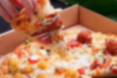 Takeaway pizza i Lalandia