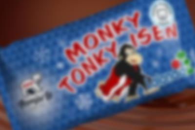 Smak på Monky Tonky-isen i Lalandia