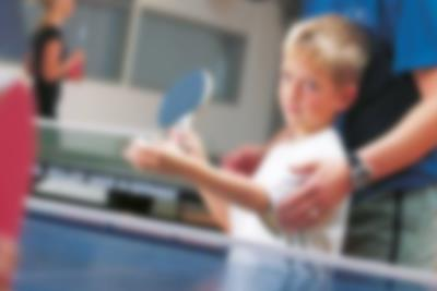Table tennis challenge at Lalandia