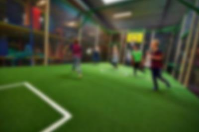 Mini football and basketball pitches