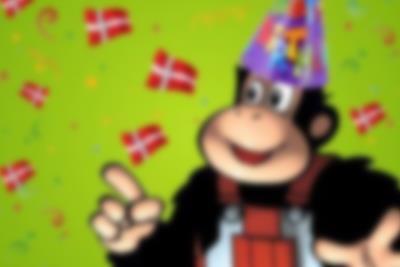Børnefødselsdag i Monky Tonky Land