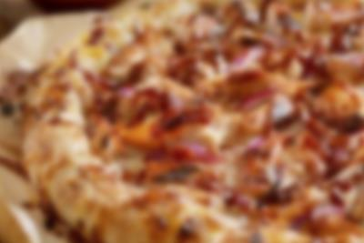 Pizza aus dem Ristorante il Bambino in Lalandia